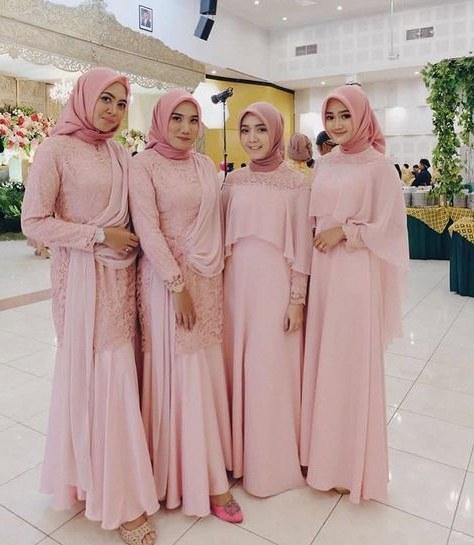 Ide Gaun Bridesmaid Hijab Fmdf List Of Gaun Kebaya Gowns Bridesmaid Dresses Images and Gaun