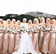 Ide Hijab Bridesmaid Budm 143 Best Hijabi Bridesmaids Images In 2019