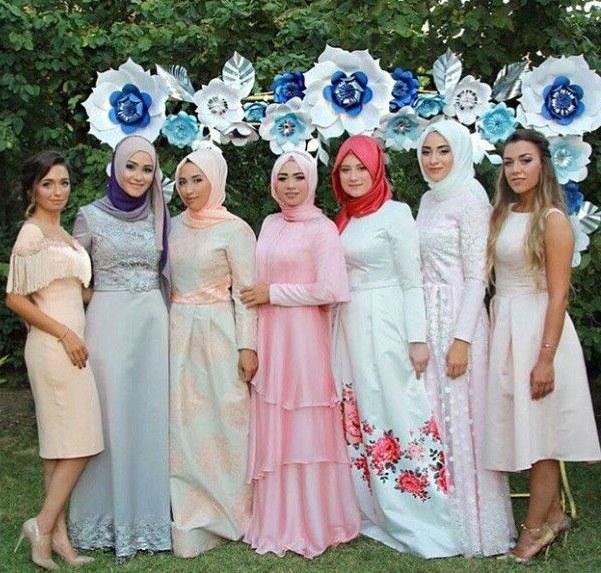 Ide Hijab Bridesmaid Fmdf Browse Modaufkuhijab and Ideas On Pinterest