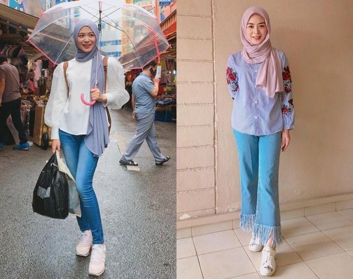 Ide Inspirasi Gaun Bridesmaid Hijab 3id6 Inspirasi Model Hijab Simpel Ayana Jihye Moon Yang Bisa Kamu