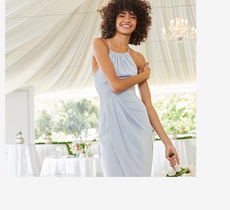 Ide Long Dress Bridesmaid Hijab Dddy the Wedding Suite Bridal Shop