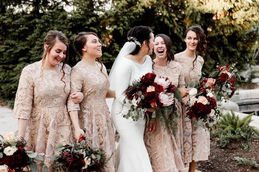 Ide Long Dress Bridesmaid Hijab Irdz E Enchanting evening Dress 3 Colors In 2019