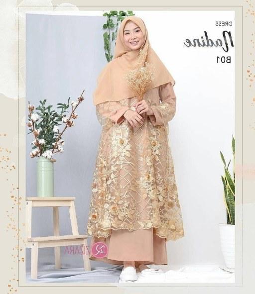 Ide Model Baju Gamis Untuk Pernikahan E6d5 30 Model Baju Brokat Model Baju Gamis Anak