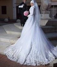 Inspirasi Baju Bridesmaid Hijab E9dx Popular Elegant Muslim Wedding Dress Buy Cheap Elegant
