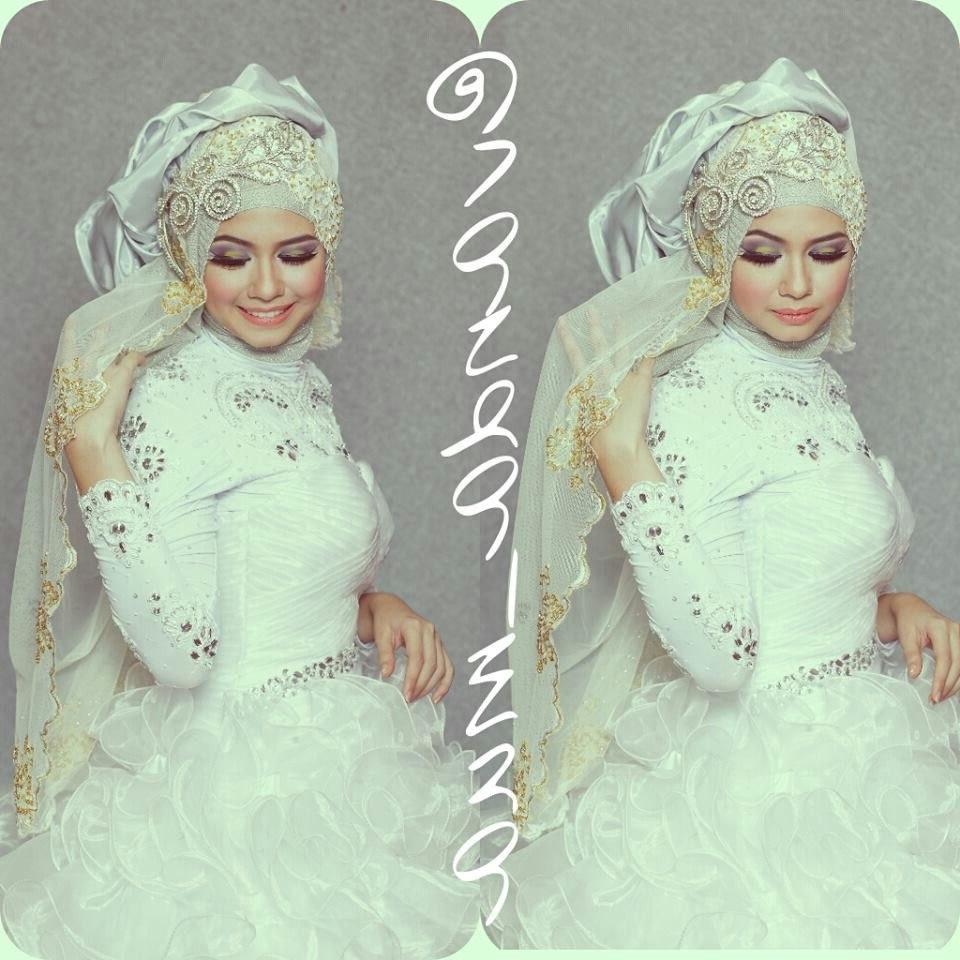 Inspirasi Bridesmaid Indonesia Hijab Bqdd Vanda Mua Moslem Wedding Dress T Hijab Bride