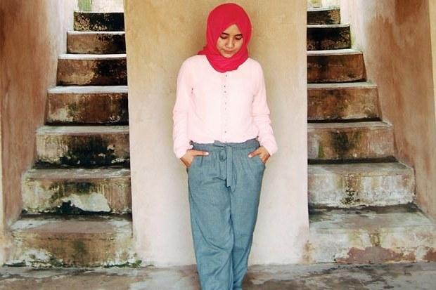 Inspirasi Bridesmaid Indonesia Hijab Fmdf Baju Muslim Terbaru April 2019