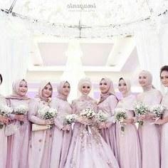 Inspirasi Bridesmaid Indonesia Hijab Rldj 143 Best Hijabi Bridesmaids Images In 2019