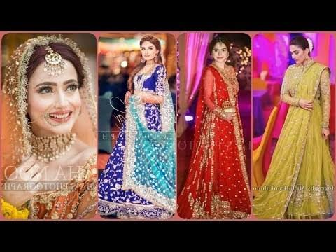 Inspirasi Desain Bridesmaid Hijab H9d9 Videos Matching Latest Stylish Mayon or Ubtan Haldi