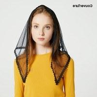 Inspirasi Desain Bridesmaid Hijab J7do Aliexpress Buy Design Women soft Black White Lace