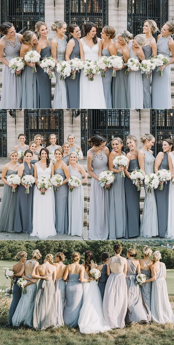 Inspirasi Desain Bridesmaid Hijab Y7du Trending top 10 Mismatched Bridesmaid Dresses Inspiration