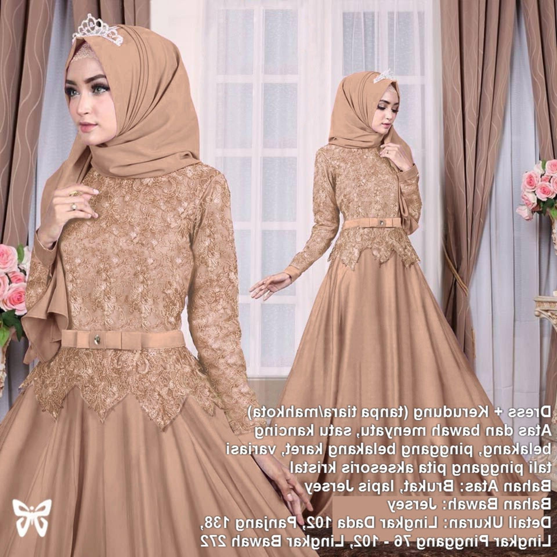 Inspirasi Gamis Untuk Resepsi Pernikahan Irdz Harga Gaun Pengantin Muslimah Unik Inilah Harga Gaun Gamis
