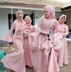 Inspirasi Gamis Untuk Resepsi Pernikahan T8dj Siska Dwi Ciefen02 Di Pinterest