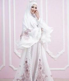 Inspirasi Gamis Untuk Resepsi Pernikahan U3dh Siska Dwi Ciefen02 Di Pinterest