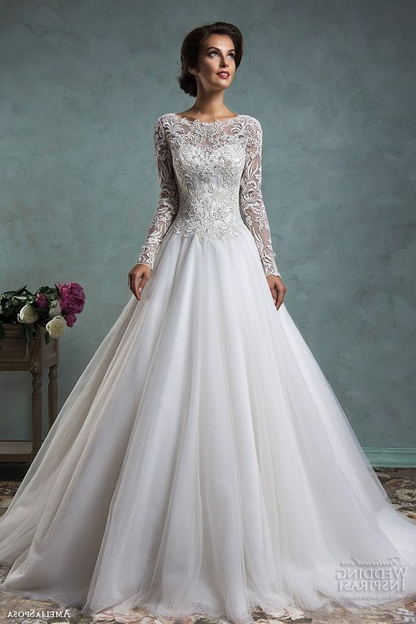 Inspirasi Hijab Bridesmaid Dress D0dg Lace Long Sleeve Wedding Gowns Best Stunning High Collar