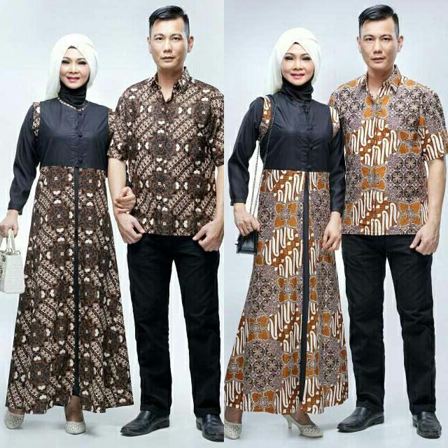 Inspirasi Model Baju Bridesmaid Hijab 2018 87dx Couple Batik