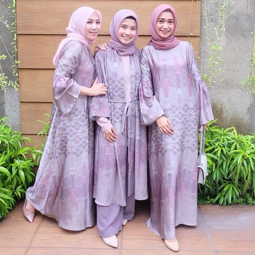 Inspirasi Model Gamis Untuk Acara Pernikahan Dwdk √ 17 Model Baju Gamis Pesta 2020 Terbaru Untuk Lebaran
