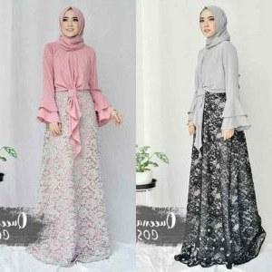 Inspirasi Model Gamis Untuk Acara Pernikahan Dwdk Model Gamis Untuk Acara Nikahan Hijab Batik