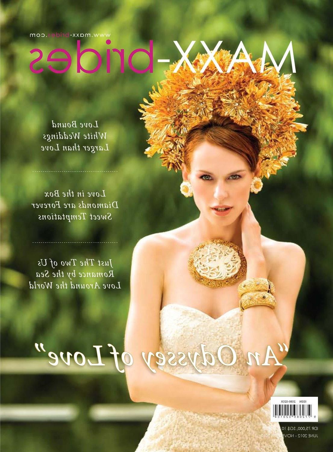 Inspirasi Model Kebaya Bridesmaid Hijab 3id6 Maxx Brides Juni November Wedding Magazine by Dika Rachman