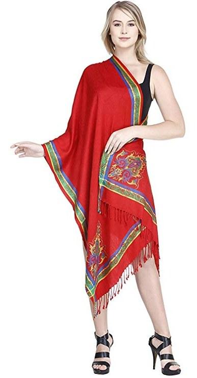 Inspirasi Ootd Hijab Bridesmaid S5d8 Skavij Women S Viscose Shawls and Wraps for evening Dresses