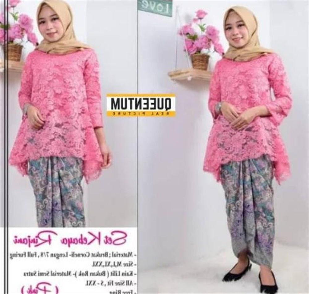 Model Bridesmaid Hijab Batik Ftd8 Kantor Alat Kantor