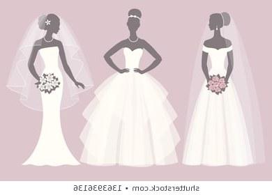 Model Bridesmaid Hijab Batik S5d8 Fashion Illustration Bride Stock S & Vectors