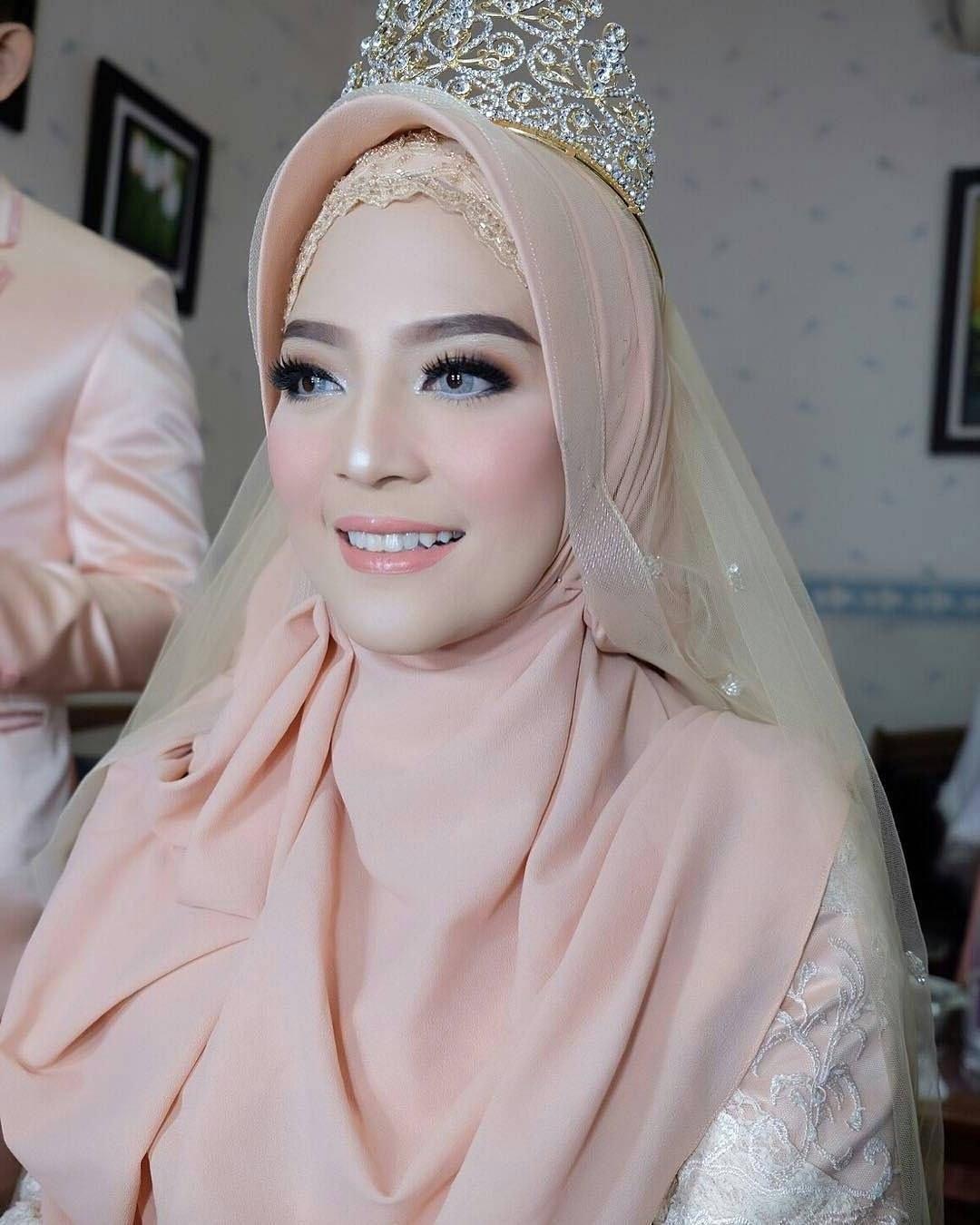Model Bridesmaid Hijab Tldn Makeup Bridesmaid Hijab