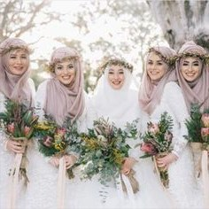 Model Design Bridesmaid Hijab Etdg 143 Best Hijabi Bridesmaids Images In 2019