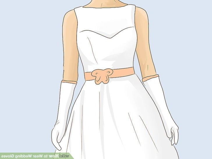 Model Design Bridesmaid Hijab U3dh 3 Ways to Wear Wedding Gloves Wikihow