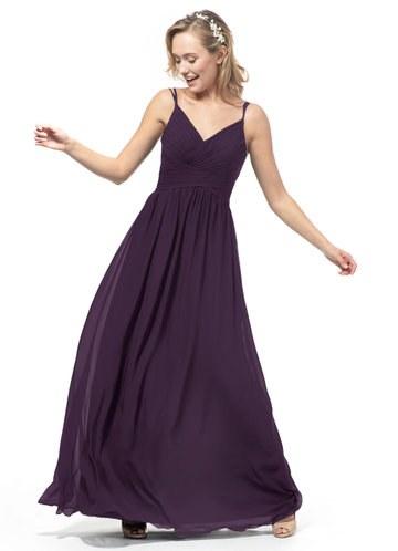 Model Dress Bridesmaid Hijab Thdr Plum Bridesmaid Dresses