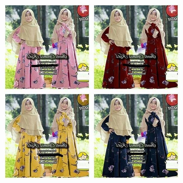 Model Gamis Seragam Pernikahan Budm Jual Namira Fashoin New Baju Muslim Gamis Anak Syari Kids Inodi Od Muat Unt Dki Jakarta Mega Store99