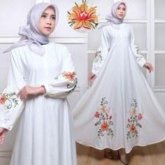 Model Gamis Seragam Pernikahan Gdd0 Gamis