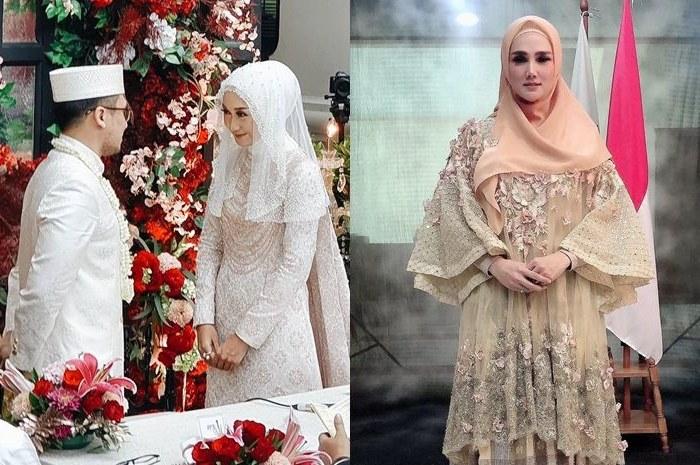 Model Gamis Syari Untuk Pesta Pernikahan Ffdn Jadi Tamu Di Acara Pernikahan Dian Pelangi Mulan Jameela