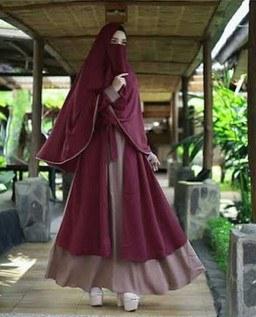 Model Gamis Syari Untuk Pesta Pernikahan O2d5 19 Model Baju Gamis Syar I Pesta Mewah Tapi Elegan Terbaru