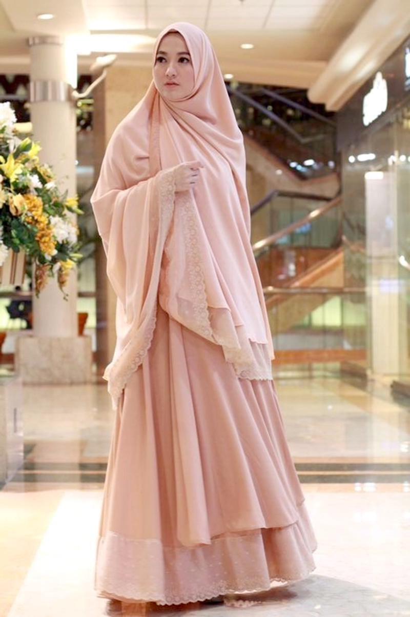 Model Gamis Syari Untuk Pesta Pernikahan Y7du Sederhana Dan Elegan Tips Style Hijab Syar I Pesta Untuk