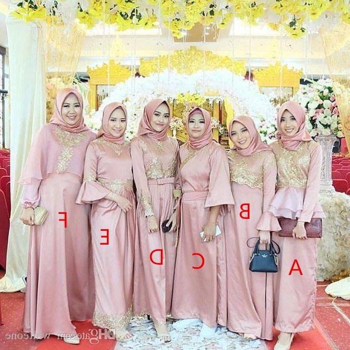 Model Model Baju Bridesmaid Hijab 2019 Wddj Bridesmaid Hijab Dress – Fashion Dresses