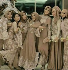 Model Model Baju Bridesmaid Hijab S1du Pida Hasibuan Fiedhahasibuan On Pinterest