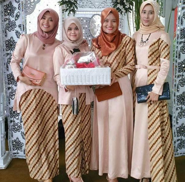 Model Model Gamis Batik Untuk Pesta Pernikahan 4pde 15 Model Gamis Batik Muslimah Terbaru Untuk Pesta – Janahara