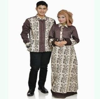 Model Model Gamis Batik Untuk Pesta Pernikahan 4pde Model Baju Batik Couple Untuk Pesta Modis