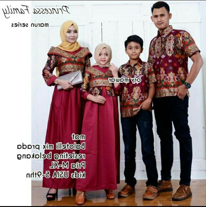 Model Model Gamis Batik Untuk Pesta Pernikahan Drdp Baju Batik Couple Sarimbit Keluarga Gamis Pesta Baju Anak Cewek Saja