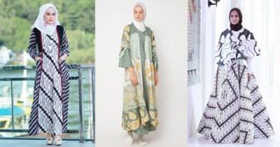 Model Model Gamis Batik Untuk Pesta Pernikahan E6d5 Biar Tampilan Kamu Makin Kece Pakai Gamis Batik Cantik Ini