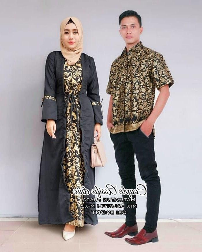 Model Model Gamis Batik Untuk Pesta Pernikahan Rldj Cp Batik solo Batik Couple Sarimbit Gamis Batik Pesta Batik