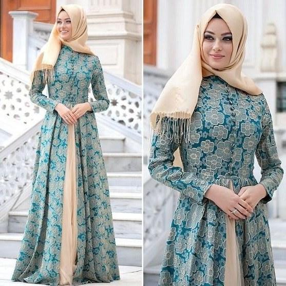 Model Model Gamis Batik Untuk Pesta Pernikahan S1du Ragam Model Gamis Batik Yang Bikin Penampilan Cantik Menawan