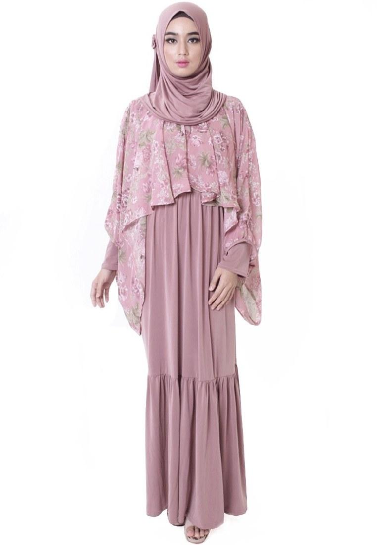 Model Model Gamis Batik Untuk Pesta Pernikahan Whdr 17 Model Baju Batik Muslim 2018 Untuk Remaja Muslimah