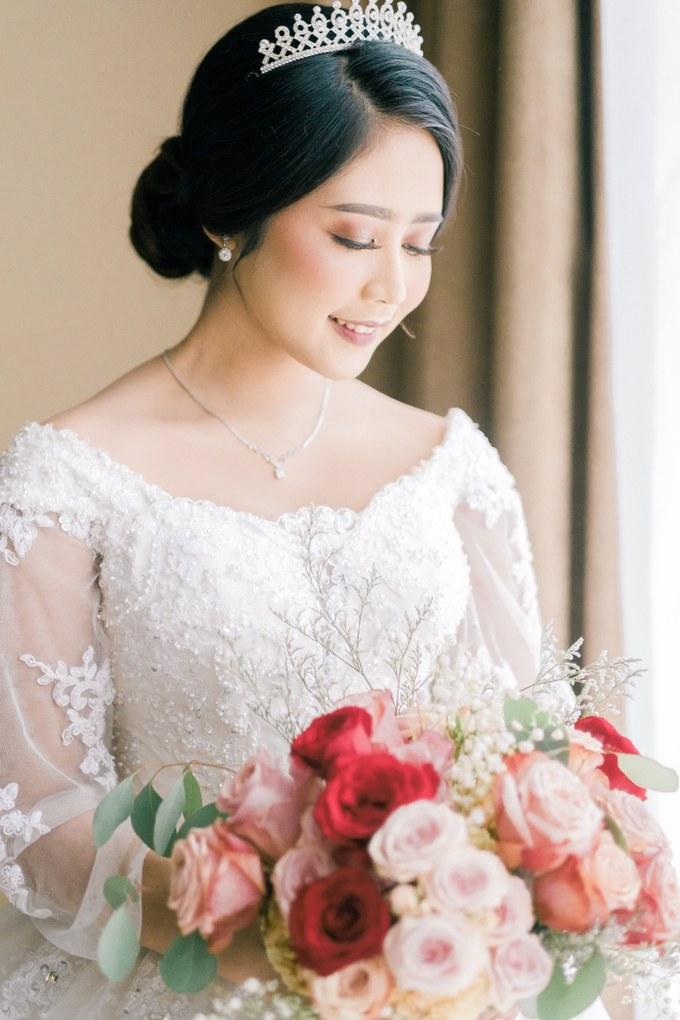 Model Model Seragam Bridesmaid Hijab 3id6 Wedding Day Dani and Nadia by Luminous Bridal Boutique