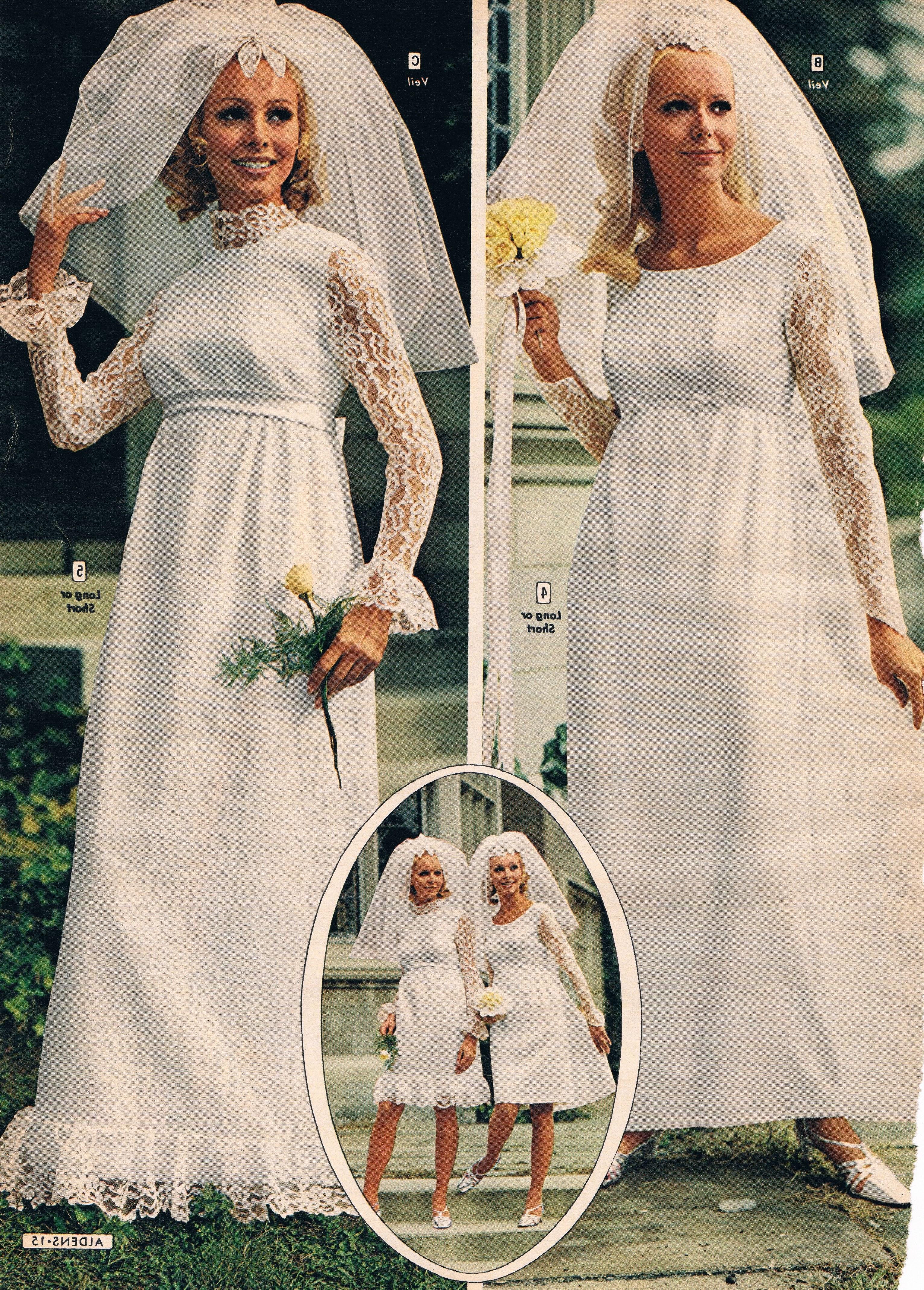 Model Vintage Bridesmaid Dress Hijab Dwdk Aldens Catalog 60s In 2019