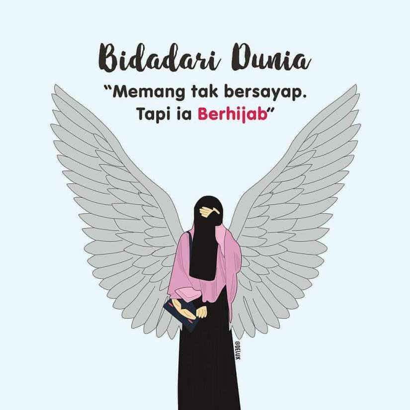 Kartun Muslimah Bercadar Dan Kata Kata Mutiara Ragam Muslim