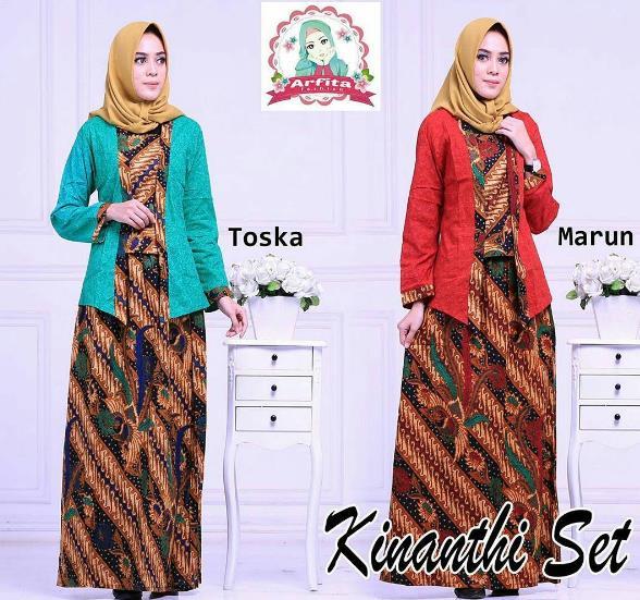 Model Batik Pesta Model Rompi