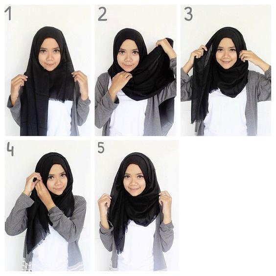 Tutorial Hijab Jadi Rompi Ragam Muslim