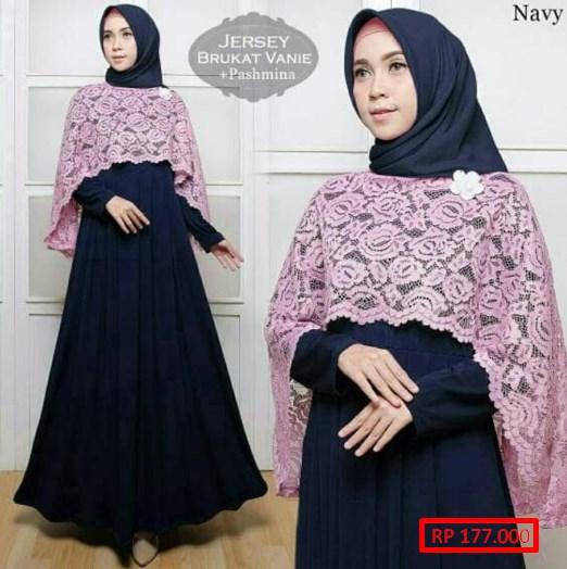 Model Baju Gamis Terbaru Untuk Remaja Ragam Muslim