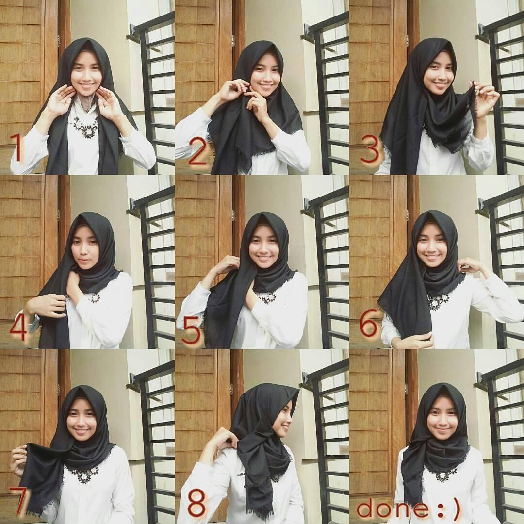 Tutorial Model Hijab Nissa Sabyan
